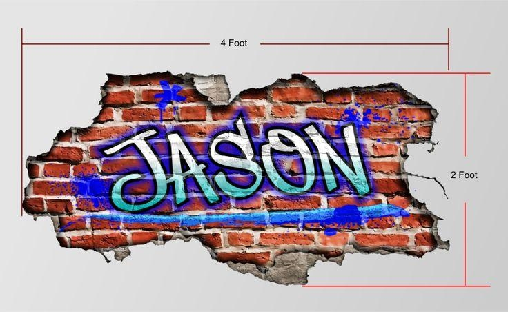 Featured Image of Personalized Graffiti Wall Art