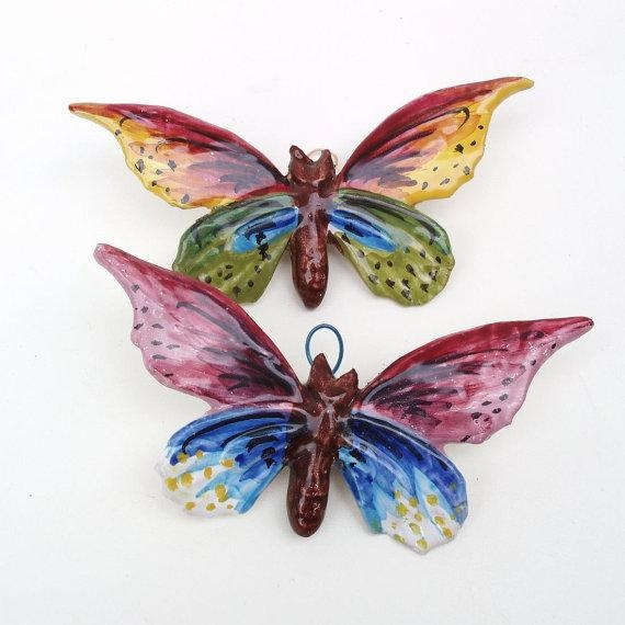 Wall Art Ideas Design : Notice Make Ceramic Butterfly Wall Art Throughout Ceramic Butterfly Wall Art (Image 20 of 20)