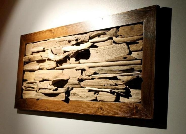 Wall Art Ideas Design : Rectangle Wooden Driftwood Wall Art Throughout Driftwood Wall Art For Sale (Image 16 of 20)