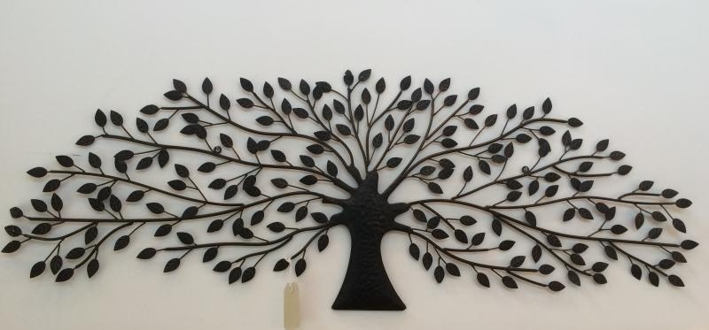 Nice Featured Image Of Metal Tree Wall Art Sculpture