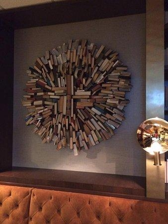 Wall Art In The Bar Area – Picture Of Sheraton Austin At The With Regard To Wall Art For Bar Area (Image 20 of 20)