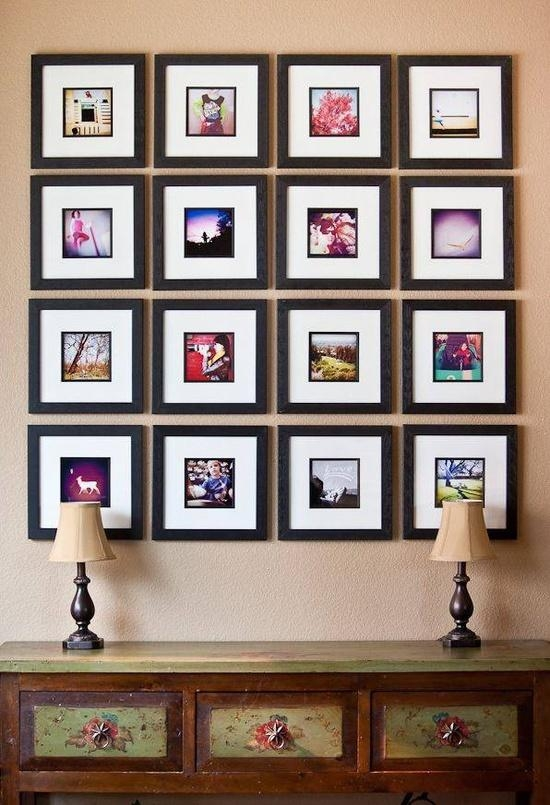 Wall Art Inspiration: Instagram Photo Displays » Confessions Of A Pertaining To Photography Wall Art (Image 17 of 20)