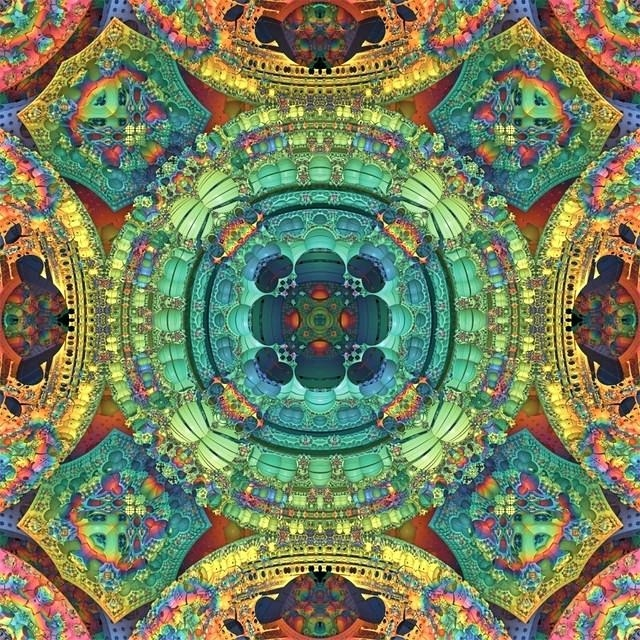 Wall Art: Kaleidoscope Wall Art (View 15 of 20)
