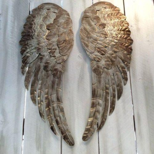 Wall Art ~ Large Angel Wings Wall Decor Uk Angel Wings Wall Art Intended For Angel Wings Sculpture Plaque Wall Art (View 9 of 20)