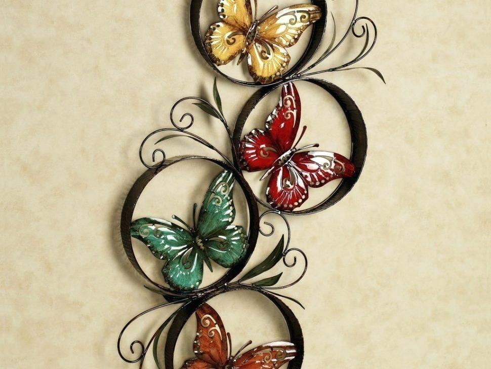 Wall Art ~ Large Metal Butterfly Wall Art As Birds Metal Butterfly In Large Metal Butterfly Wall Art (View 17 of 20)