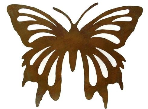Wall Art ~ Large Metal Butterfly Wall Art Find This Pin And More Inside Large Metal Butterfly Wall Art (View 18 of 20)