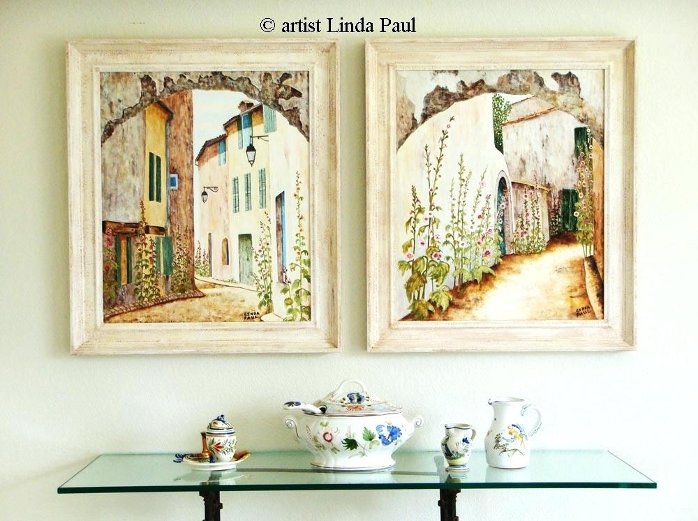 Wall Art ~ Like This Item Lighted Country Canvas Wall Art French Inside Country Style Wall Art (Image 19 of 20)