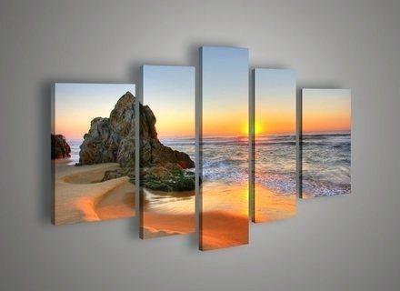 Wall Art ~ Long Thin Canvas Art Vertical Canvas Wall Art Uk Long In Long Vertical Wall Art (Image 15 of 20)