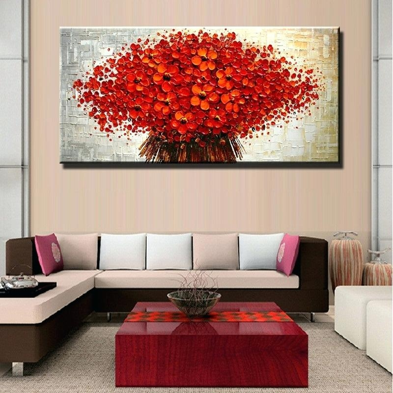Wall Art ~ Matching Wall Art New 100Hand Painted Wall Art Autumn Inside Matching Wall Art (Image 13 of 20)