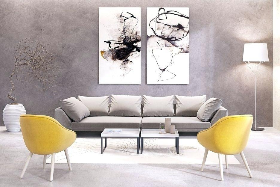 Wall Art ~ Matching Wall Art Pictures Yellow And Gray Dahlia Throughout Matching Wall Art (Image 15 of 20)