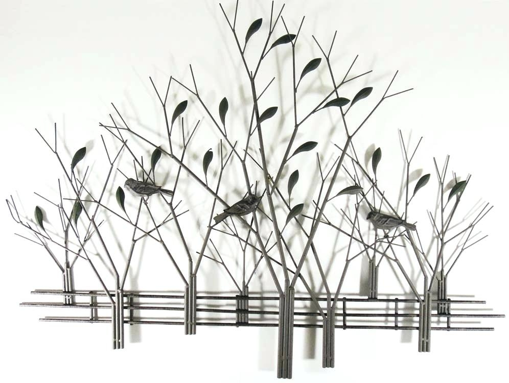 Wall Art ~ Metal Wall Art Trees San Francisco California March In Metal Wall Art Trees And Branches (Image 18 of 20)