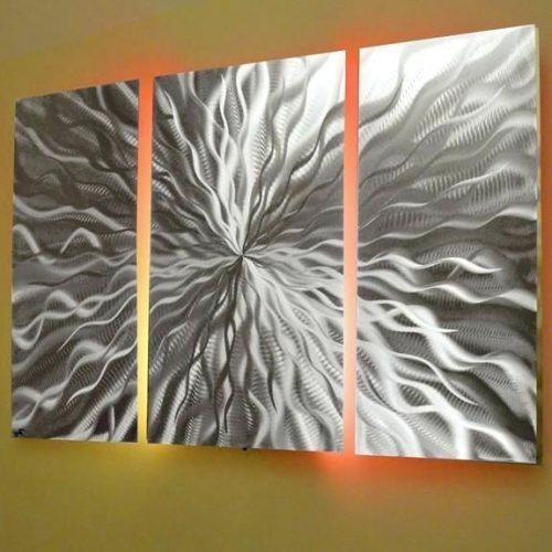 Wall Art ~ Metal Wall Artwork Metal Wall Decor Kohls Home Metal Throughout Metal Framed Wall Art (Image 14 of 20)