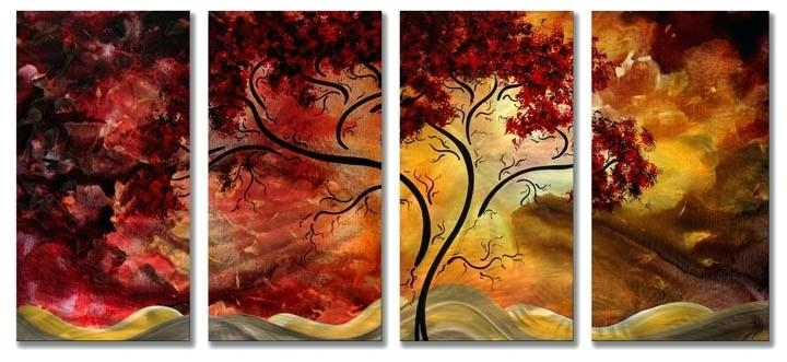 Wall Art ~ Multiple Panel Wall Art Canvas Wall Art Designs Multi Intended For Multiple Panel Wall Art (Image 14 of 20)