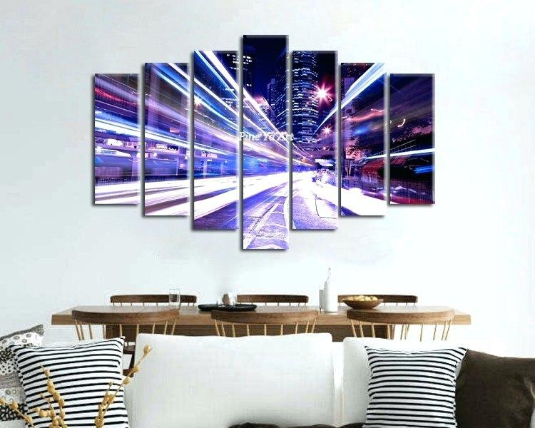 Wall Art ~ Online Shop Large 7 Piece Canvas Prints Decorative New For 7 Piece Canvas Wall Art (View 6 of 20)