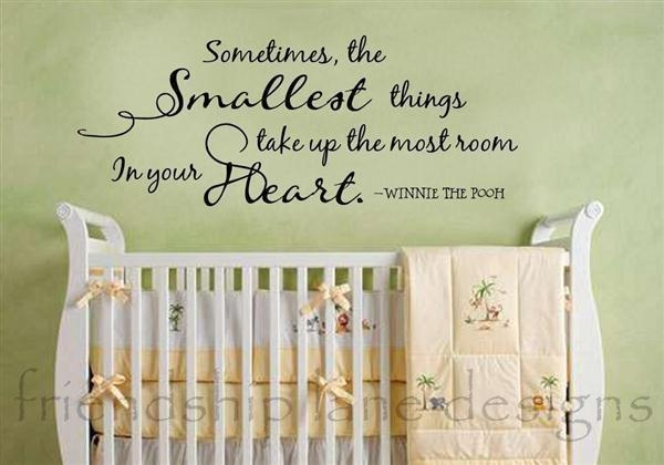 Wall Art Quotes For Nursery | Wallartideas For Winnie The Pooh Nursery Quotes Wall Art (Image 16 of 20)