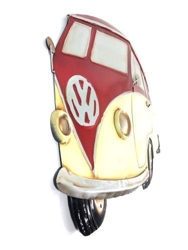Wall Art – Red Vw Campervan Intended For Campervan Metal Wall Art (View 15 of 20)
