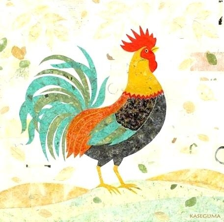 Wall Art ~ Rooster Kitchen Metal Wall Art Rooster Wall Art Within Metal Rooster Wall Decor (Image 19 of 20)