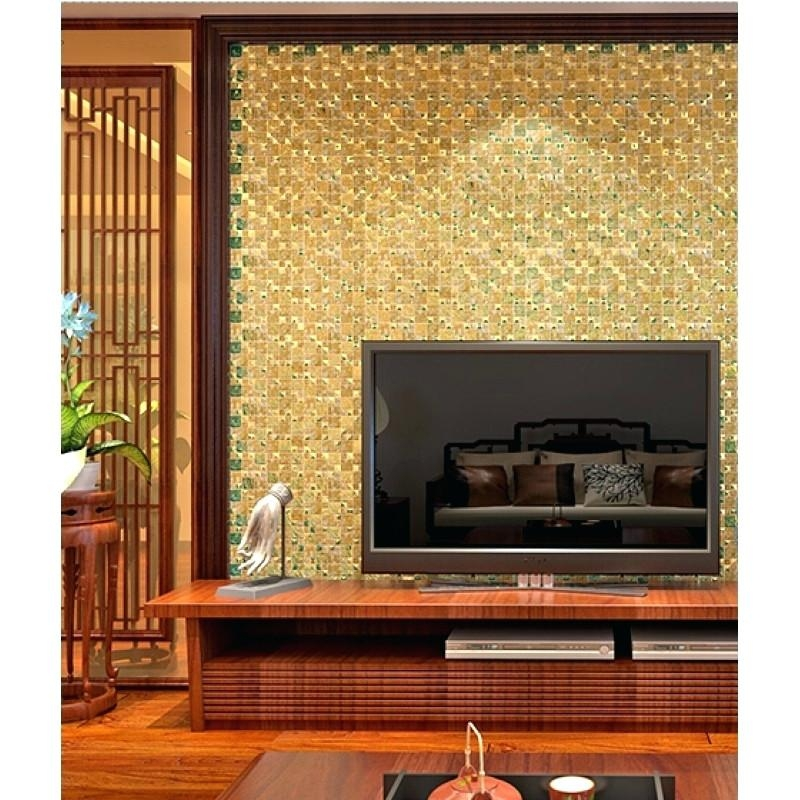 Wall Art ~ Sacred Glass Mosaic Tile Buddha 3D Wall Mural Buddha In Mosaic Wall Art Kits (View 18 of 20)