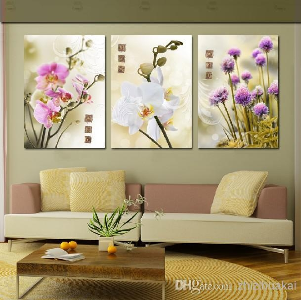 Wall Art Set Home Decoration Modern Picture Abstract Oil Painting Inside 3 Piece Modern Wall Art (Image 19 of 20)