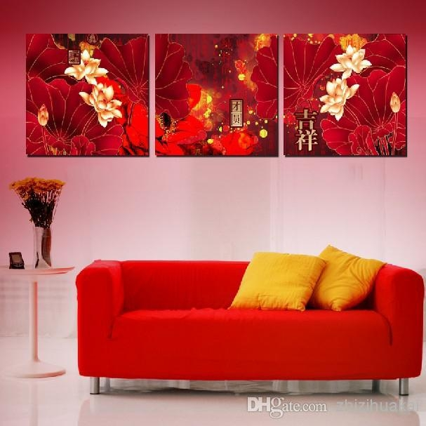 Wall Art Set Home Decoration Wall Decor Canvas Pictures For Living Within Wall Art Sets For Living Room (View 2 of 20)