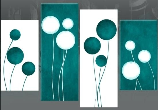 Wall Art ~ Teal Flower Canvas Wall Art Teal Metal Wall Art Uk Boy With Teal Flower Canvas Wall Art (Image 17 of 20)
