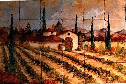 Wall Art ~ Valley Vineyard Metal Wall Art Vineyard Vines Wall Art Regarding Vineyard Wall Art (View 16 of 20)