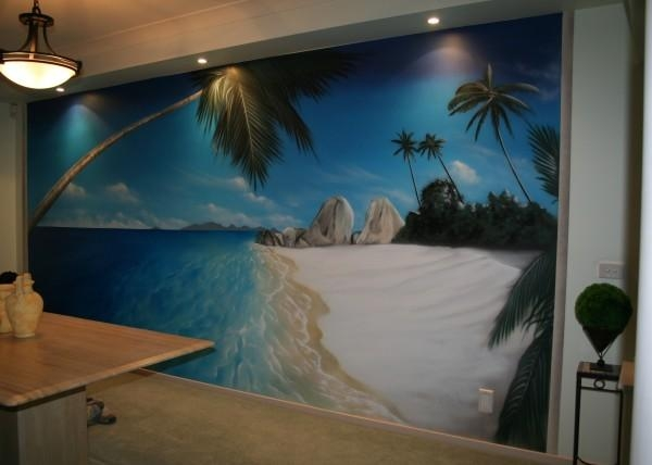 Wall Art | Work Type | Advanced Airbrush For Airbrush Wall Art (Image 15 of 20)