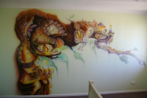 Wall Art | Work Type | Advanced Airbrush With Airbrush Wall Art (Image 17 of 20)