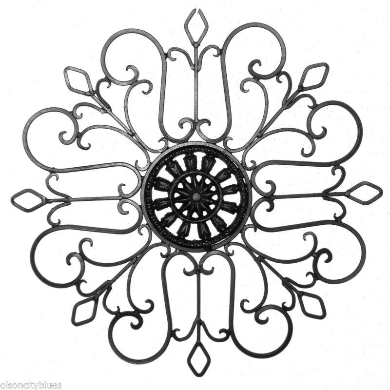 Wall Art Wrought Iron Cast Iron – Blogstodiefor In Filigree Wall Art (Image 19 of 20)