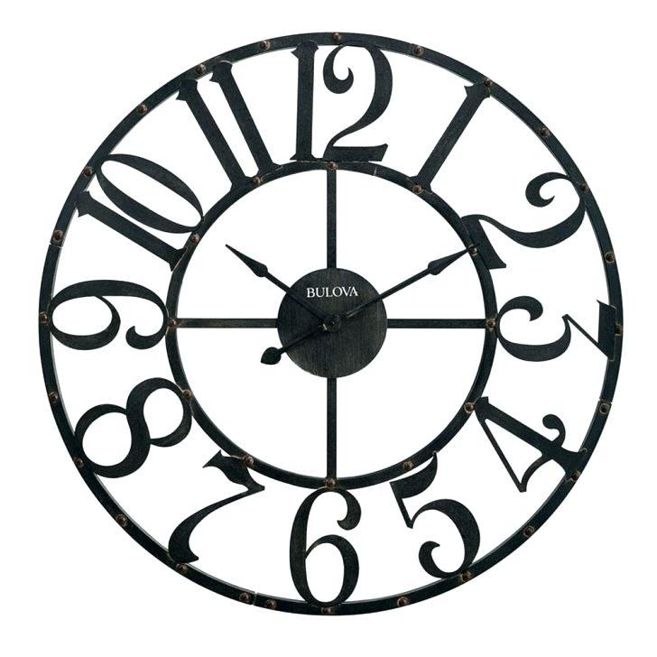 Wall Clock ~ Contemporary Wall Clock Unique French Country For Country Metal Wall Art (View 17 of 20)