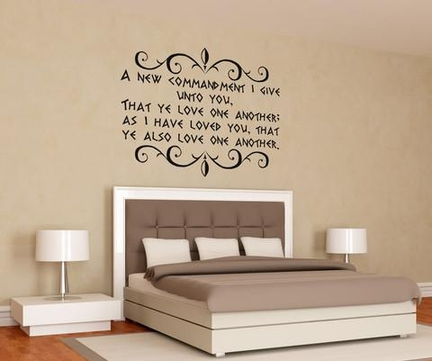 Wall Decal: Biblical Wall Decals Ideas Bible Verses Wall Stickers With Nursery Bible Verses Wall Decals (View 11 of 20)