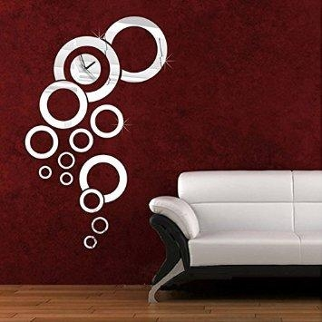 Wall Decal: Good Look Round Wall Decals Circular Metal Wall Art Throughout 3D Circle Wall Art (Image 20 of 20)