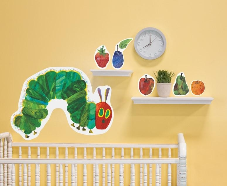 Wall Decals | The Eric Carle Museum Of Picture Book Art Inside Very Hungry Caterpillar Wall Art (Image 19 of 20)