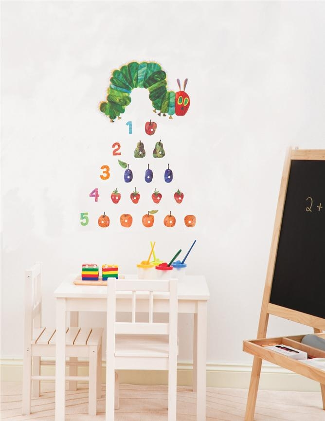 Wall Decals | The Eric Carle Museum Of Picture Book Art Regarding Very Hungry Caterpillar Wall Art (Image 20 of 20)