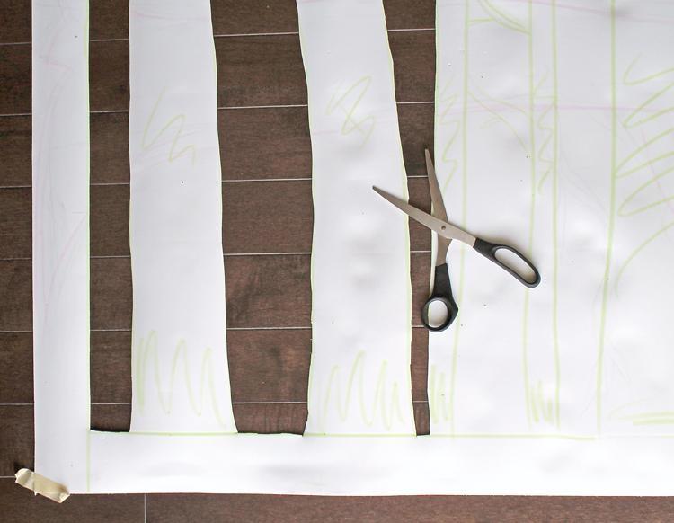 Wall Decor Diy: Aspen Tree Art – Consumer Crafts Inside Aspen Tree Wall Art (View 10 of 20)