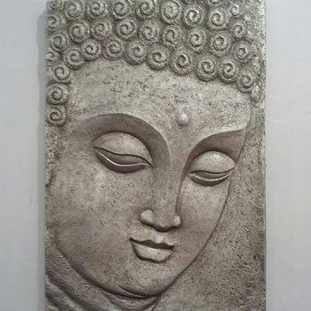 Wall Decorative 3D Head Buddha Face Wall Art – Buy Buddha Face With Regard To 3D Buddha Wall Art (Image 20 of 20)