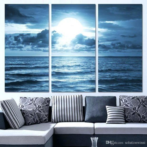 Wall Ideas : 4 Piece Photo Canvas Bedroom Canvas Wall Art Dolphin With Regard To Teal Flower Canvas Wall Art (View 17 of 20)