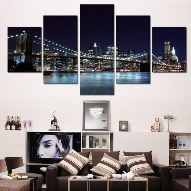 Wall Ideas: Brooklyn Wall Art Photo. Design Decor (Image 20 of 20)