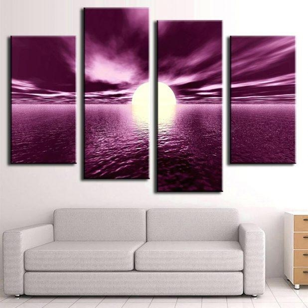 Wall Ideas : Large Painting On Canvas Plum Wall Art Stickers Large For Plum Wall Art (Image 20 of 20)