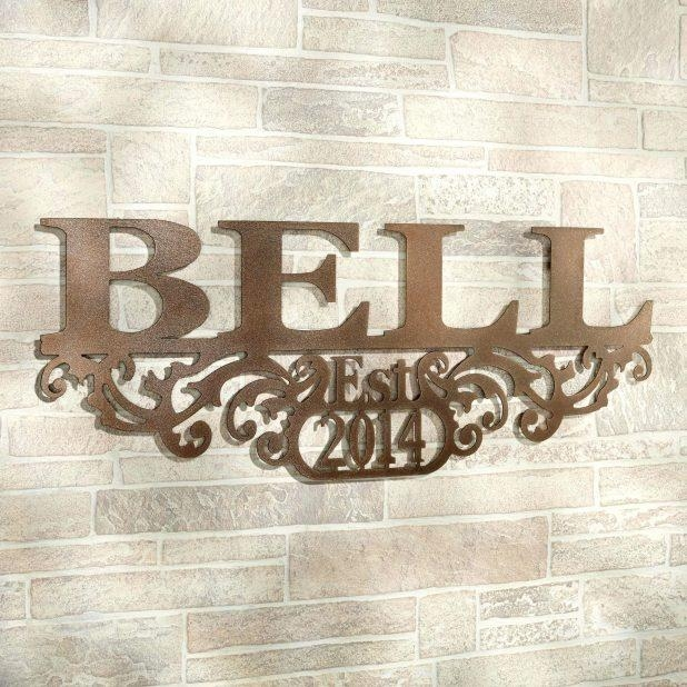 Wall Ideas : Last Name Wall Art Gifts Last Name Wall Art Custom Throughout Personalized Last Name Wall Art (View 6 of 20)