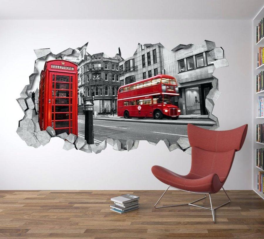 Wall Ideas : London Wall Art Walmart London Parliament Red Busses Throughout Walmart Framed Art (View 4 of 20)