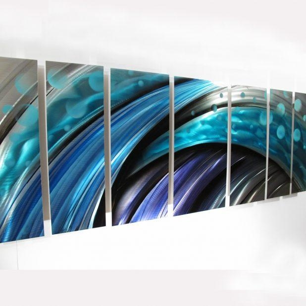 Wall Ideas: Metal Abstract Wall Art Photo (View 11 of 20)
