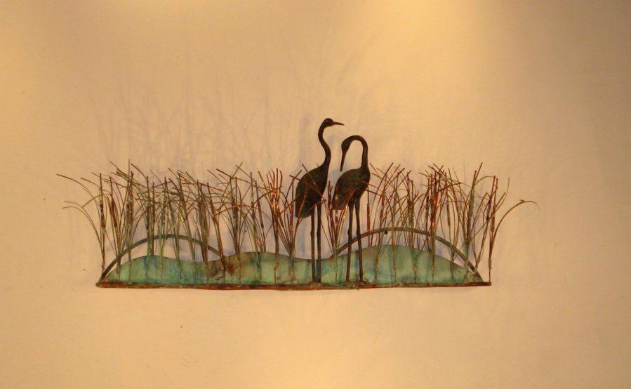 Wall Ideas : Metal Wall Art Birds On A Branch Metal Wall Art Birds For Metal Birdcage Wall Art (Image 20 of 20)