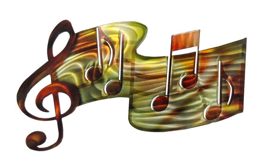 Wall Ideas : Music Metal Wall Art Metal Music Wall Art Australia Regarding Metal Music Wall Art (Image 19 of 20)