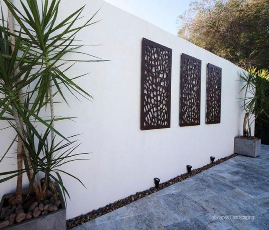 Wall Ideas: Outdoor Wall Art Decor Photo (Image 20 of 20)