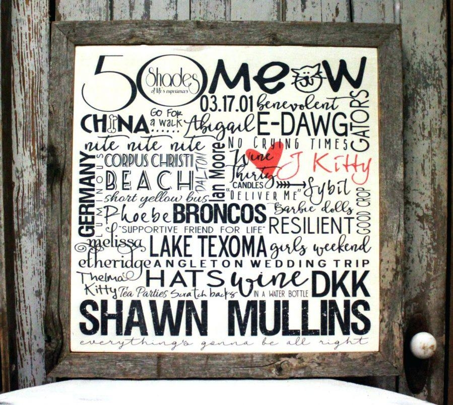 Wall Ideas : Personalized Name Wall Art For Nursery Within Personalized Last Name Wall Art (View 20 of 20)