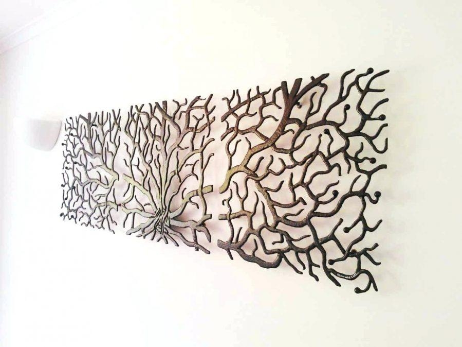 Wall Ideas : Tree Of Life Metal Wall Art Canada Alternative Views Pertaining To Metal Tree Wall Art Sculpture (Image 20 of 20)