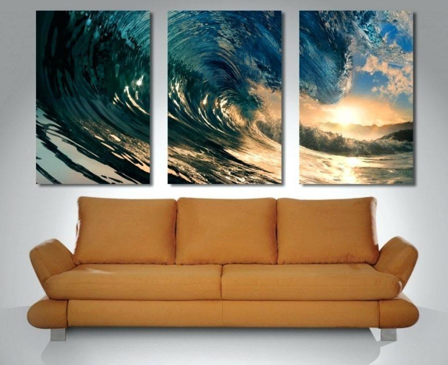 Wall Ideas : Triptych Wall Art Custom Triptych Wall Art Set Intended For Triptych Art For Sale (View 8 of 20)