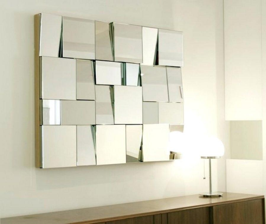 Wall Ideas : Unusual Wall Mirrors Wall Decorative Mirror Regarding Contemporary Mirror Wall Art (Image 20 of 20)