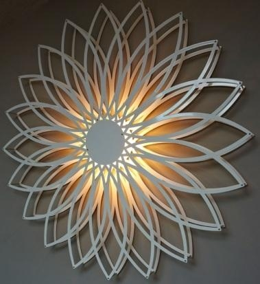 Wall Lights Design: Northern Paintings Light Wall Art Mounted Within Wall Art Lighting (Image 19 of 20)